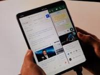 Samsung Galaxy Fold w użyciu