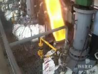Pracownik zostaje wystrzelony jak z armaty podczas prac przy hydrogeneratorze