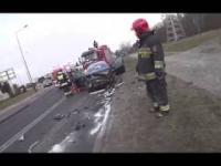 JRG-5 Poznań - Wyciek gazu i czołówka