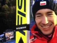 Kamil Stoch zaorał dziennikarza Eurosportu
