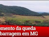 Nagrano moment osunięcia się zbocza w Brazylii