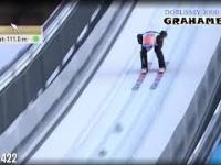 Dawid Kubacki bije rekord skoczni w Seefeld!