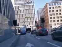 Autobus eksplodował w centrum Sztokholmu!