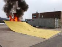 Kocyk antypożarowy