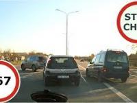 Stop Cham 267 - Niebezpieczne i chamskie sytuacje na drogach