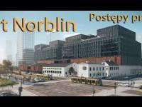Art Norblin Postępy prac budowlanych