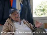 Jose Mujica, były prezydent Urugwaju, o byciu wolnym człowiekiem
