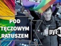 pod tęczowym ratuszem - pyta.pl