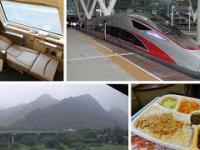 Super szybki pociąg z Hong Kongu do Beijing