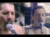 "Queen na Live Aid i te same sceny w filmie ""Bohemian Rhapsody"""