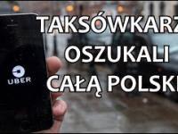 Taksówkarze oszukują całą Polskę!