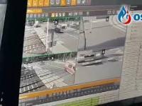 Wypadek karetki na przejeździe kolejowym w Puszczykowie