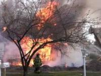Kontrolowanie spalenie domu