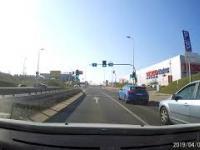 Kierowczyni BMW