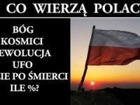 W Co Wierzą Polacy? Bóg Kosmici Ewolucja UFO Życie Pozagrobowe