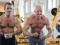 70 letni Henryk Szpala zawstydzi cie swoim wyglądem