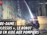 Colossus - robot, który pomógł uratować katedrę Notre-Dame