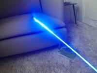 Test lasera 4500mW