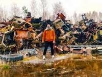 Cmentarzysko radioaktywnych maszyn w Czarnobylu