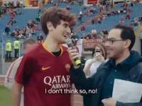 Stwierdził, że wykorzystałby sytuację zawodnika Romy. Dostał szansę od klubu