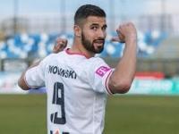 Gol Łukasza Zwolińskiego z Hajdukiem