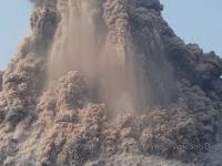 Erupcja wulkanu Krakatau z października 2018