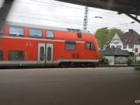Jazda równoległa 160km/h - Regional Express vs Regional Express