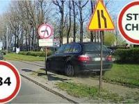 Stop Cham 284 - Niebezpieczne i chamskie sytuacje na drogach