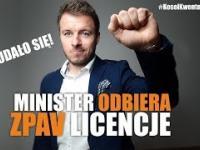 Kontrole MUZYKI u przedsiębiorców NIELEGALNE - Minister odbiera ZPAV licencje