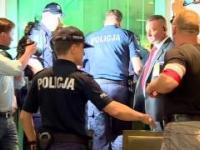 Próba wyrwania broni policjantowi w sądzie
