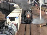 Największa lokomotywa parowa na świecie - Big Boy - powrócił na szlaki!