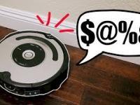 Roomba, która klnie przy kolizjach