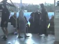 Ukryci policjanci w sektorze kiboli Zawiszy
