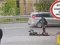 Dramatyczny wypadek motocyklisty w Jarosławiu