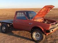 Pickup Dodge Ram z silnikiem od kosiarki