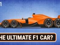 Jak wyglądałby bolid F1, gdyby nie było żadnych ograniczeń w przepisach?
