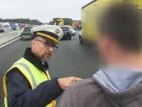 Wyczerpana cierpliwość niemieckiego policjanta