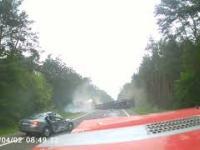 Wypadek na DK7 Unierzyż