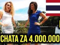 WJAZD NA CHATE - 4.000.000 *LUX życie TAJLANDIA