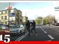Polish Drivers 15 Niebezpieczne wypadki,kolizje,wymuszenia i potrącenia na polskich drogach