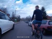 """Pan rowerzysta Maciej w programie """"Jedź bezpiecznie"""""""