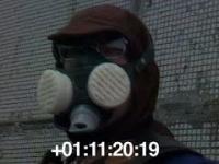 Czarnobyl - likwidatorzy usuwają grafit z dachu