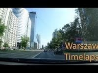 Zwiedzanie Warszawy Timelapse Śródmieście - Mokotów - Ursynów