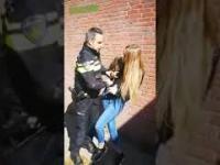 Laska wyczerpała cierpliwość policjanta