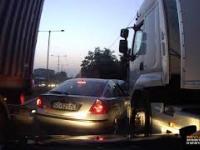 Kierowca TIR pod wpływem narkotyków jedzie pod prąd