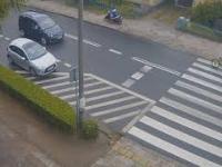 Potrącenie rowerzysty - Brodnica