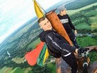 Wejście na Litewską antenę 238 metrów / Climbing Lithuania radio mast