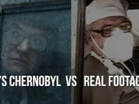 """Porównanie scen z serialu """"Czarnobyl"""" z oryginalnymi ujęciami z miejsca katastrofy"""