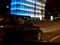 Agresywne typy w Audi z Wadowic zaczepiają ludzi