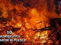 10 Największych pożarów w Polsce